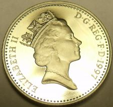 Buy Gem Cameo Proof Gret Britain 1997 10 Pence~Crowned Lion~Collect The Best~Free Sh