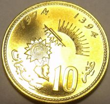 Buy Rare Proof Morocco 1974 F.A.O 10 Santimat~20,000 Minted~Only Year Ever~Free Ship