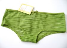 Buy X0018 Age Group NEW Lime Semi-Sheer Striped Low Rise Stretch Poly Boyshort S PR