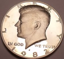Buy 1982-S GEM PROOF KENNEDY HALF~FREE SHIPPING~ US COINS ~