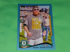 Buy MLB Sean Doolittle Oakland A's SUPERSTAR 2012 TOPPS BLUE BORDER BASEBALL MNT
