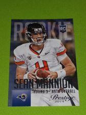 Buy NFL 2015 PANINI PRESTIGE SEAN MANNION RAMS SUPERSTAR ROOKIE #281 MNT
