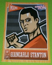 Buy MLB GIANCARLO STANTON MARLINS SUPERSTAR 2015 PANINI TRIPLE PLAY #44 MNT