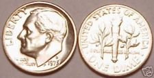 Buy 1973-D UNC ROOSEVELT DIME~WE HAVE DIMES IN R STORE~FR/S