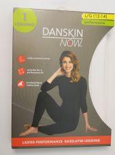 Buy Danskin Now White Ladies Performance Baselayer Leggings Size L 12-14 Tagless