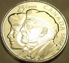 Buy Gem Unc Canada 2005 Veterans Quarter~Fantastic~Honor Our Veterans~Free Shipping