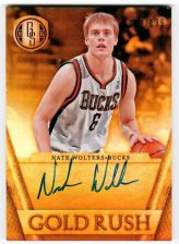 Buy NBA 2014-15 PANINI GOLD STANDARD NATE WOLTERS AUTO /199 MNT