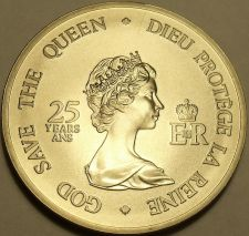 Buy Massive Gem Unc Canada 1977 4 Governors Medallion~God Save The Queen~Free Ship