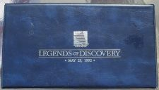 Buy LEGENDS OF DISCOVERY FIRST DAY 1992 FIVE DOLLAR SET~F/S