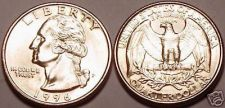 Buy 1996-P BRILLIANT UNCIRCULATED WASHINGTON QUARTER~FREE SHIP~WE HAVE UNC QUARTERS~