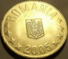 Buy Gem Unc Romania 2005 5 Bani~Minted In Bucharest~Free Shipping