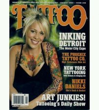 Buy Tattoo Magazine August 2008 ink LOW BID