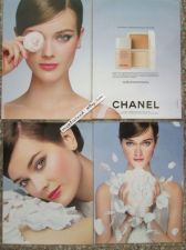 Buy MONIKA JAGACIAK Super Model CHANEL Print Ad Lot 4 Posters 8 x 11 in Waterproof