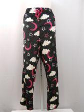 Buy PLUS SIZE 3X Womens SuperMink Plush Sleep Pants FADED GLORY Elastic Waist Black
