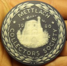 Buy Massive 63mm Ceramic~Mettlach Villeroy & Boch Germany Collectors Medallion~Fr/Sh