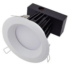 Buy Dimmable LED Retrofit Downlight w/ Adjustable Head & White Trim