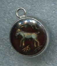 Buy ZODIAC GLASS BUBBLE CHARM : CAPRICORNUS GOAT CAPRICORN / Dec. 22 – January 19