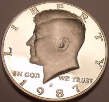 Buy United States Proof 1987-S Kennedy Half Dollar~See R Proof Kennedys~Free Ship