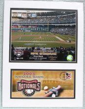 Buy US Postal Art MLB NEW Washington Nationals First Pitch 2005