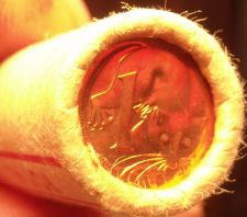 Buy Gem Unc Original Roll (50) Australia 1981 Cents~Feather Tailed Glider~Free Ship