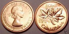 Buy GEM UNC 1964 CANADIAN MAPLE LEAF CENT~~FREE SHIP INC~~