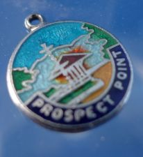 Buy Prospect Point Enamel & Sterling Silver Travel Souvenir Charm Charm
