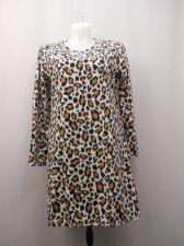 Buy PLUS SIZE 18W 20W Womens Sleep Shirt MICRO FLEECE Long Sleeve Animal Print