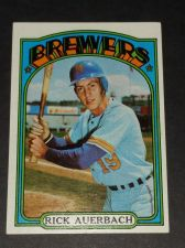 Buy VINTAGE RICK AUERBACH BREWERS 1972 TOPPS #153 GD-VG