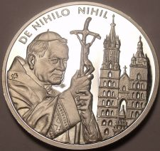 Buy Rare Silver Proof Malta 2004 50 Liras~2,988 Minted~From Nothing, Nothing~Free Sh