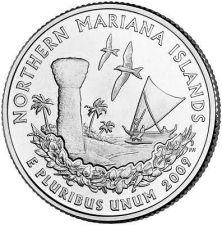 Buy 2009-P MARIANA ISLANDS TERRITORIAL QUARTER~~FREE SHIP~~