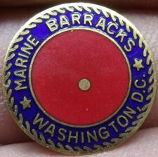 Buy Lot of 5 Marine Corps Barracks Washington D.C. Enameled Brass Medallions~Free Sh