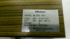 Buy mitutoyo 516-712-2 Long Gauge Blocks Grade 2 *OBO*