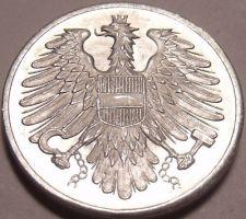 Buy Gem Unc Austria 1962 2 Groschen~Imperial Eagle~Free Shipping