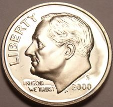 Buy United States 2000-S Roosevelt Dime~We Have Thousands Of Proof Coins~Free Ship