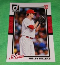 Buy MLB Shelby Miller St.Louis Cardinals SUPERSTAR 2014 DONRUSS BASEBALL RC GEM MNT