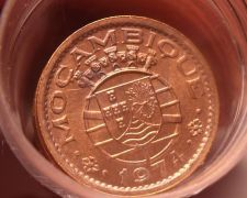 Buy Gem Unc Roll (50 Coins) Rare Mozambique 1974 20 Centavos~High Value~Free Ship