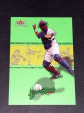 Buy MLB IVAN RODRIGUEZ 2002 FLEER GRASS ROOTS #5/10 GD-VG