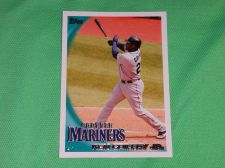 Buy MLB Ken Griffey jr. Seattle Mariners Superstar 2010 TOPPS BASEBALL GD-VG