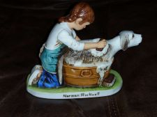 Buy Vintage 1979 Norman Rockwell Masterpiece Edition Ceramic Figurine Nice