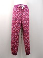 Buy PLUS SIZE 3X Womens Minky Fleece Sleep Pants FADED GLORY Elastic Waist Violet
