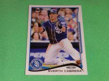 Buy MLB Everth Cabrera Padres 2014 Topps Baseball GD-VG
