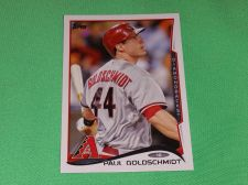 Buy MLB Paul Goldschmidt Diamondbacks 2014 Topps Baseball GD-VG