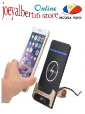 Buy Qi Wireless Charging Pad + Phone Stand - 1Amp, 5Volt 100 To 205 kHz Frequency