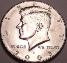 Buy United States Unc 2003-D Kennedy Half Dollar~Free Shipping