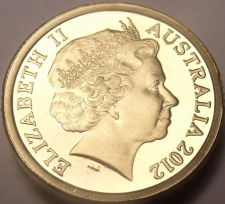Buy Gem Cameo Proof Australia 2012 Two Dollars~We Have Australian Coins~Free Ship