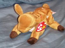 Buy RETRO ORIGINAL TY BEANIE BABY PLUSH WHISPER BABY DEER COLLECTIBLE NICE