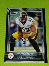 Buy NFL 2015 TOPPS ALL PRO MAURICE POUNCEY STEELERS SUPERSTAR #268 MNT