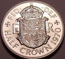 Buy Huge Proof Great Britain 1970 Half Crown~Last Year Ever Minted~Fantastic~Free Sh