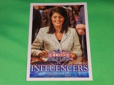 Buy 2016 Presidential Decision Influencers Nikki Haley collectible trading card MNT