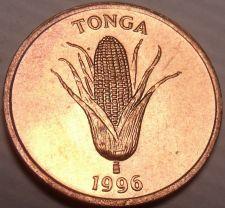 Buy Gem Unc Tonga 1996 Seniti~World Food Day~Ear Of Corn~Vanilla Plant~Free Shipping
